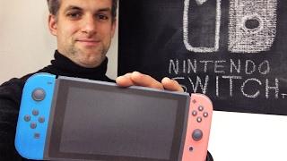 NINTENDO SWITCH avis sur 1 console de jeux vidéo (géniale) qui sera bientôt en France pour unboxing