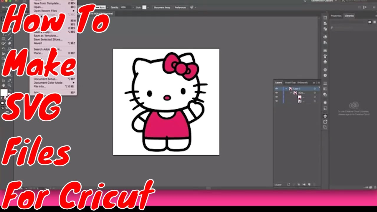 Download How To Make To SVG Files For Cricut Using Images - YouTube