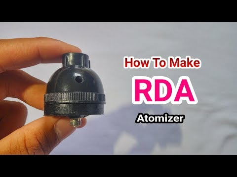 How To Make Atomizer (RDA) !!!Simple!!!