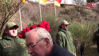в День мужества и народного единства в Южной Осетии прошел митинг