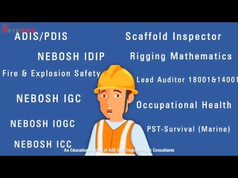 OSHE - An Advanced Diploma Course in Occupational Safety, Health and Environment