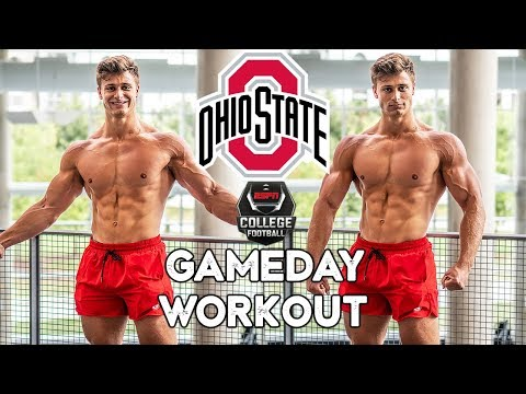 OHIO STATE FIRST GAMEDAY WORKOUT