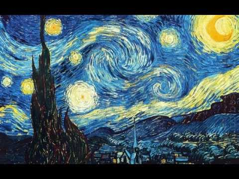 Enjoy famous oil paintings by Monet and Van Gogh - YouTube