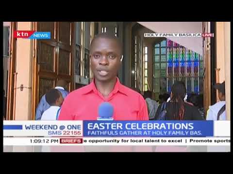 Christians celebrate Easter Sunday around the country