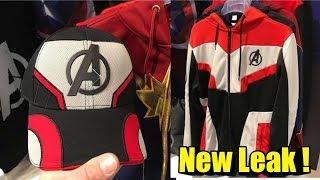 Avengers Endgame:Quantum Realm Suits Merchandise Leak !!