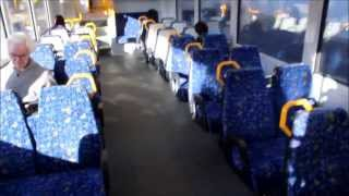 2 Sydney Trains Tangara Train 2 x 2 Seating & Wider Aisle Carriage Trial CityRail