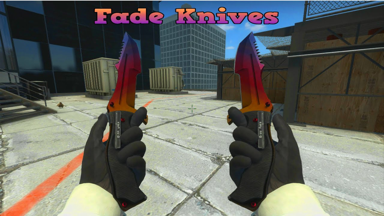 CSGO Fade Knifes and Patterns
