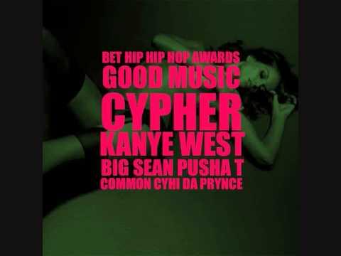 GOOD Music Cypher Kanye West featuring Pusha T, Big Sean, Cyhi Da Prince & Common