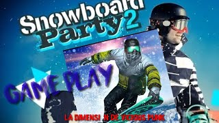 snowboard party ( Android games ,game play.)