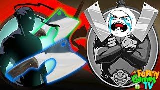 - ТОПОРЫ МЯСНИКА мультик для детей игра Shadow Fight 2 бой с тенью