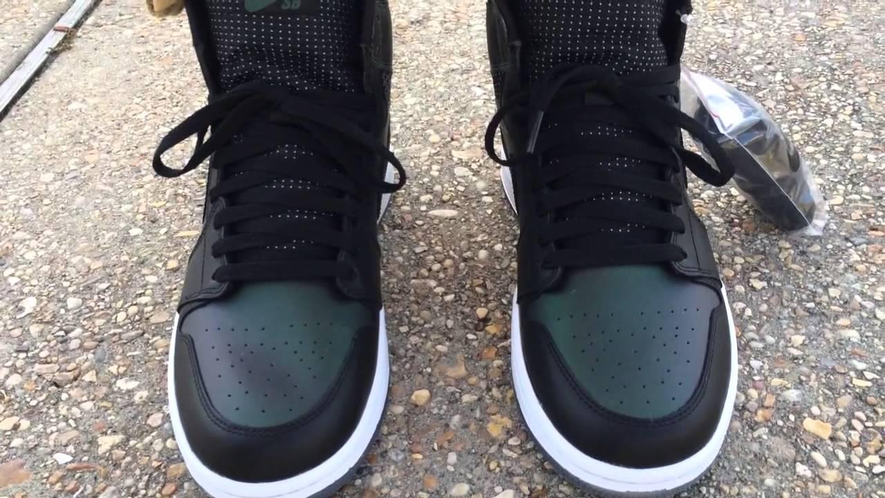 b0dd90d95e Air Jordan 1 SB on feet - YouTube
