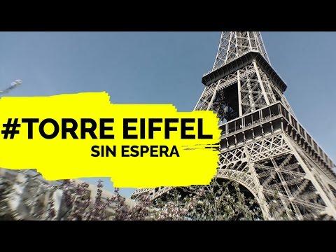Compra tu Entrada a la Torre Eiffel SIN HACER COLA