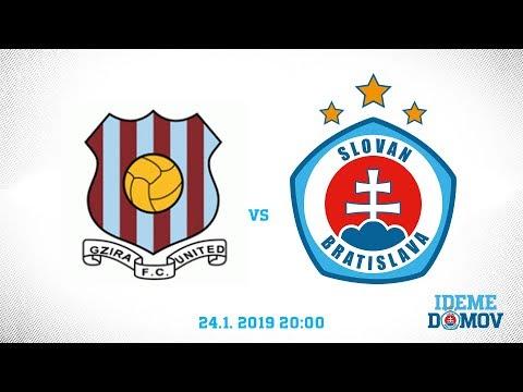 LIVE: Gzira United FC - ŠK Slovan Bratislava