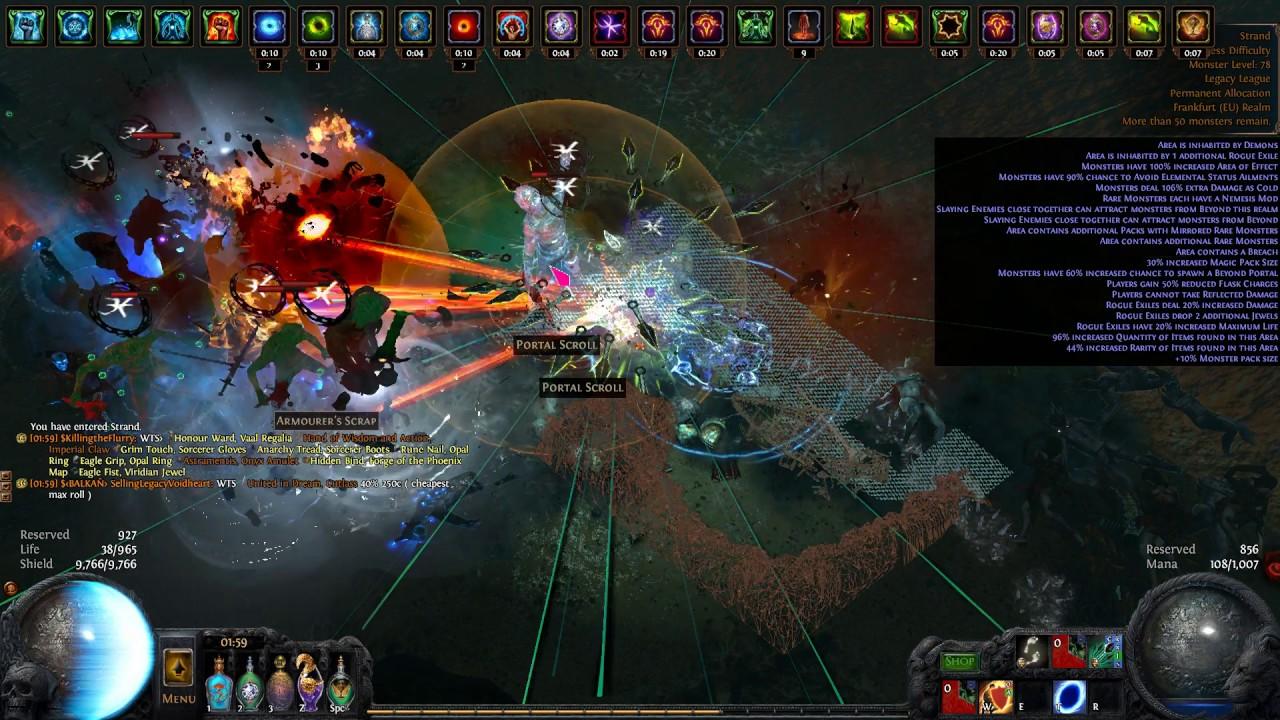 Path Of Exile Ek Nova Hh Double Beyond Breach Mob Pack