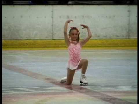 Daniella Alessi - 7 years old Beginners Bracknell 2007