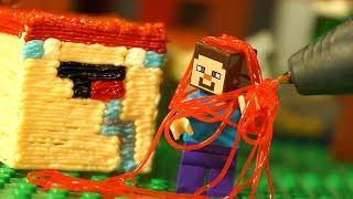 ДРУГ 💩 3Д Ручка и Лего НУБик Майнкрафт Мультики LEGO Minecraft Мультфильмы Видео для Детей