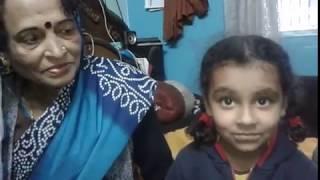 Aradhya Vashishtha D/o Deepak Vashishtha, G/d of Nova Guruji ...presenting poem-1 and 2
