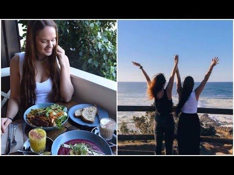 Vegan food and beaches - Byron Bay with Amanda Round The Globe