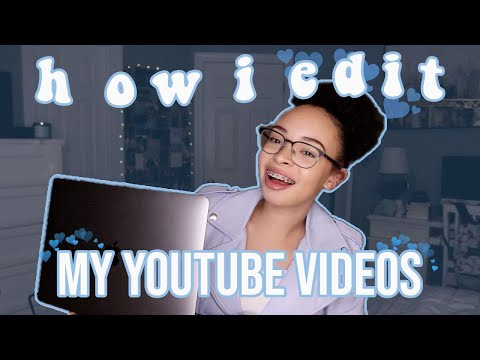 How I Edit My YouTube Videos! | aliyah simone