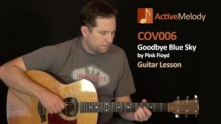 Goodbye Blue Sky - Pink Floyd - Guitar Lesson - COV006