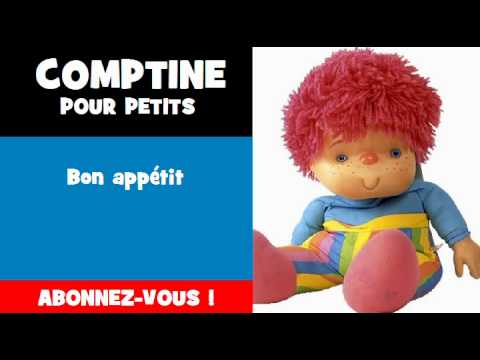Turbo COMPTINE POUR PETITS = Bon appétit - YouTube EB45