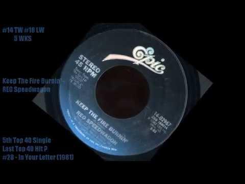 Cashbox Singles Chart July 10, 1982 Top 40