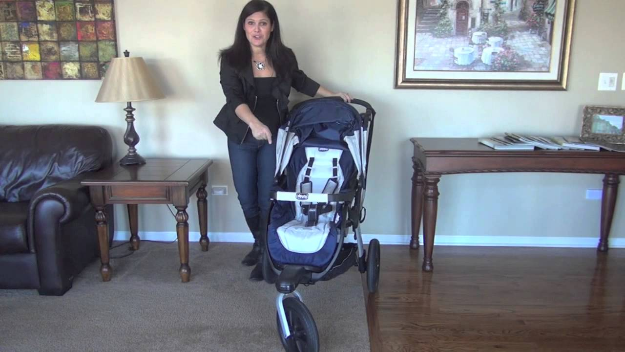 Chicco Activ3 All-Terrain Jogging Stroller Review by Baby Gizmo - YouTube 37b0c31668
