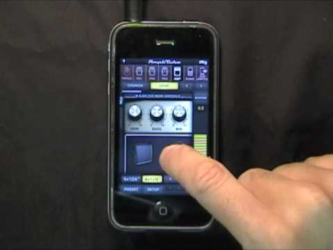 AmpliTube for iPhone app Quick Start Guide