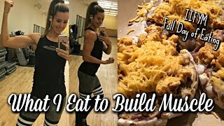 What I Eat to Build Muscle | Full Day of Eating | IIFYM | ASCEND- EP 3