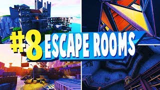 TOP 8 Besten ESCAPE ROOM MAPS In Fortnite | Fortnite Escape Room CODES