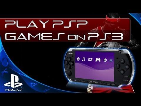 Запуск PSP игр на PS3