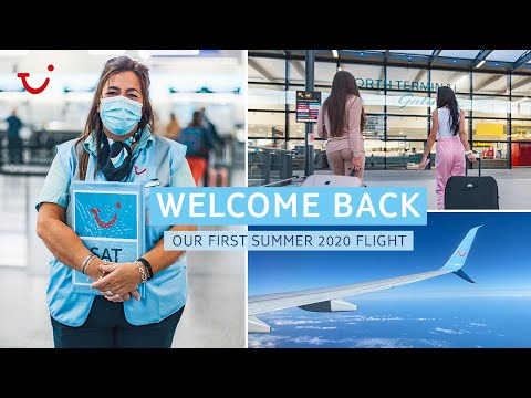 Welcome back  our first summer 2020 flight