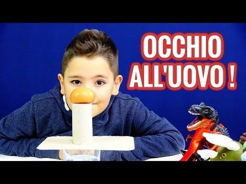 OCCHIO ALL' UOVO! - ESPERIMENTI PER BAMBINI - Leonardo D