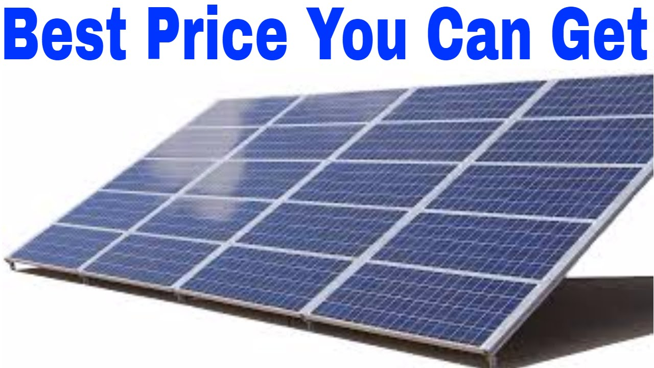 Buyer S Guide For Solar Panels It S The Good Stuff For