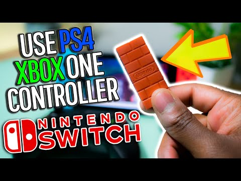 Use Xbox/PS4 Controller on Nintendo Switch! *2019*