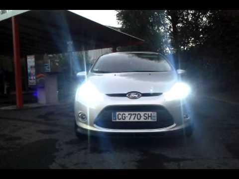 Ford Fiesta 1 25 Titanium Xenon Hid 6000k Youtube
