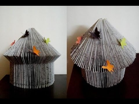 How to Make Hut from a Book ツ