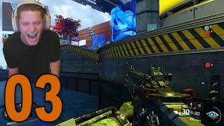 Black Ops 3 GameBattles - Part 3 - Hilarious Clutch by Train (BO3 Live Competitive)