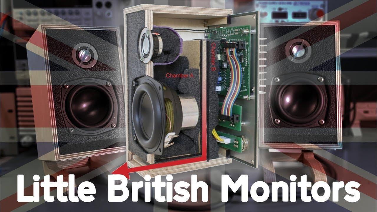 Little British Monitors: DIY Transmission Line (?) Speaker Kit