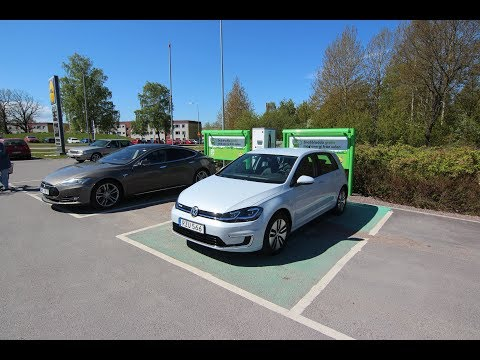 VOLKSWAGEN E-Golf POV -  The electric car we all have been waiting for?
