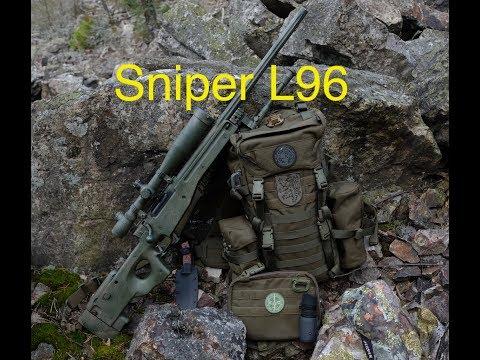 Airsoftová Puška Well  L96 Sniper