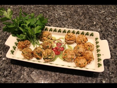 Stuffed Mushroom Recipe - OrsaraRecipes