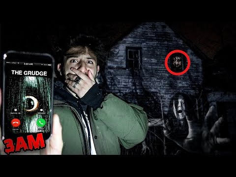 (WE SAW HER!) CALLING THE GRUDGE ON FACETIME AT 3 AM | DONT FACETIME THE GRUDGE AT 3 AM (GHOSTS)