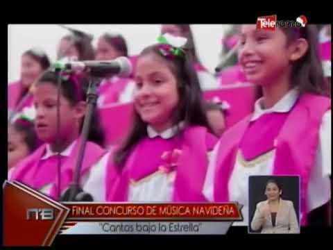 Final Concurso de Música Navideña Cantos bajo la Estrella