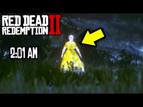 Dana McKenzie - DO NOT GO TO THE SWAMP IN RED DEAD 2 AT 2:01 AM OR THIS HAPPENS