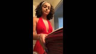 Malu Trevejo Sneeze Instagram Live | April 02, 2018