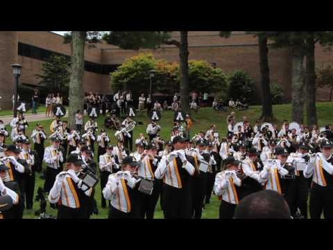 App State Marching Mountaineers Broyhill Lawn Performance