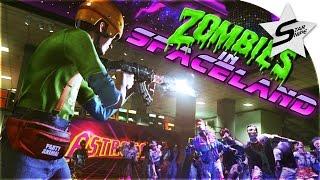 SPACELAND ZOMBIES ADVENTURE!! - Call of Duty Infinite Warfare Zombies Gameplay w/ Kross, Royal, Boom