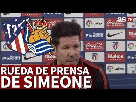 Rueda de prensa completa de Simeone- Diario AS - 동영상