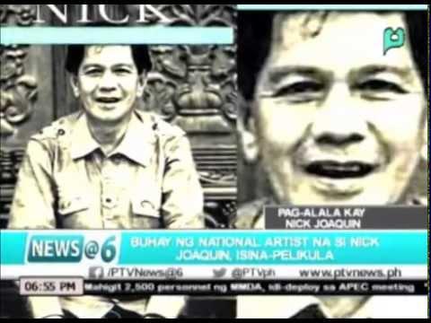 News@6: Buhay ng national artist na si Nick Joaquin, isina-pelikula || Nov. 5, 2015